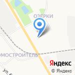 Озерки на карте Кирова