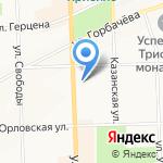 Управление ФСБ России по Кировской области на карте Кирова