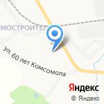 Библиотека №12 на карте Кирова