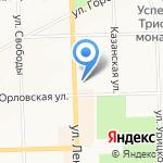 Детская филармония на карте Кирова