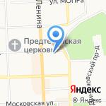 Радио мир на карте Кирова
