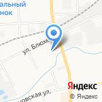Столплит на карте Кирова