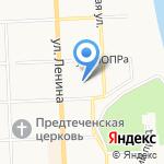 Сириус-Экспо на карте Кирова