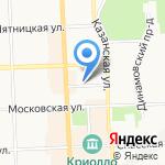 СМ Гарантия на карте Кирова