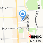 РЕ-Принт на карте Кирова