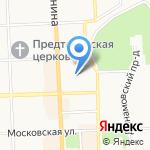 Центральная диспетчерская служба городского пассажирского транспорта на карте Кирова