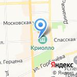 Театр на Спасской на карте Кирова