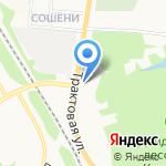 Верста на карте Кирова