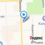 Управление Федеральной службы государственной регистрации на карте Кирова