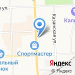 Аврора на карте Кирова