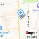 Всё из Иваново на карте Кирова