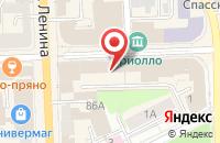 Схема проезда до компании Натали Плюс в Кирове