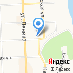 Подгузыч на карте Кирова
