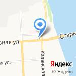 Созвездие на карте Кирова