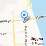 Вятская ладья на карте Кирова