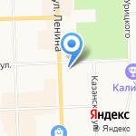 Тренажерный зал на карте Кирова