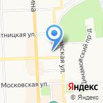 Кировское предприятие противопожарной автоматики на карте Кирова