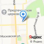 Пеленг на карте Кирова