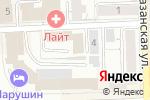 Схема проезда до компании Газпром газораспределение Киров в Кирове
