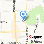 Вятский край на карте Кирова