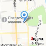 Электро на карте Кирова