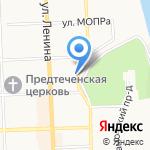 В панике на карте Кирова