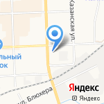 Дом Цветов на карте Кирова