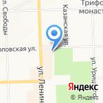 ГеоСфера на карте Кирова