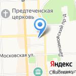 Норвик банк на карте Кирова