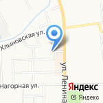 Салон красоты на карте Кирова