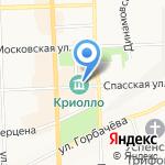 Корзина подарков на карте Кирова