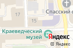 Схема проезда до компании Корзина подарков в Кирове