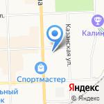 Санта Лючия на карте Кирова