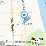 Радужка на карте Кирова