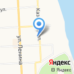 Продлёнка на карте Кирова
