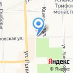 Магазин кондитерских изделий на карте Кирова
