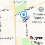 Управление уголовного розыска на карте Кирова