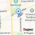 Отдел полиции №2 на карте Кирова