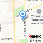 Часовня во имя Святителя Стефана Пермского на карте Кирова
