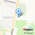 Церковь святого Блаженного Прокопия Вятского Чудотворца на карте Кирова