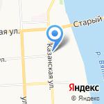 Magnetik на карте Кирова