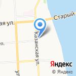 РАЙКОМ на карте Кирова