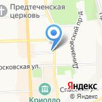 Подкова на карте Кирова
