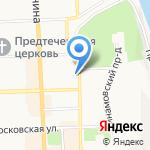 Александровский на карте Кирова