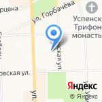 SS20 Kirov на карте Кирова