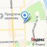 Речное на карте Кирова