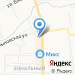 Магазин детской одежды и домашнего текстиля на карте Кирова