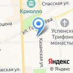 Автохимчистка на карте Кирова