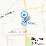 Сова на карте Кирова