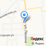 Башни на карте Кирова